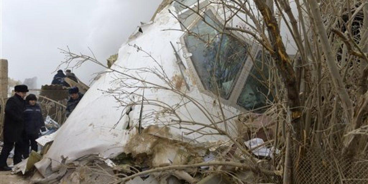 Accidente de avión provoca 37 muertos en Kirguistán