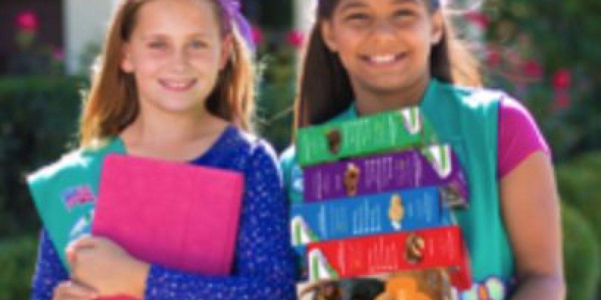 Celebran un siglo de las galletas Girl Scouts