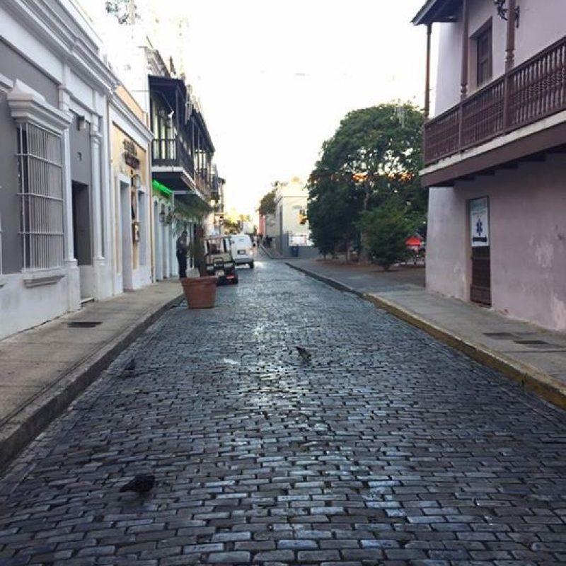 Viejo San Juan post Sanse 2017