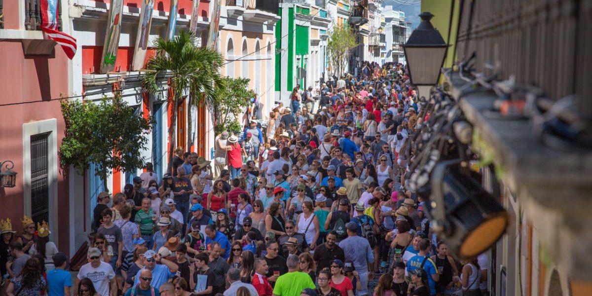 Último día de las Fiestas de la Calle San Sebastián