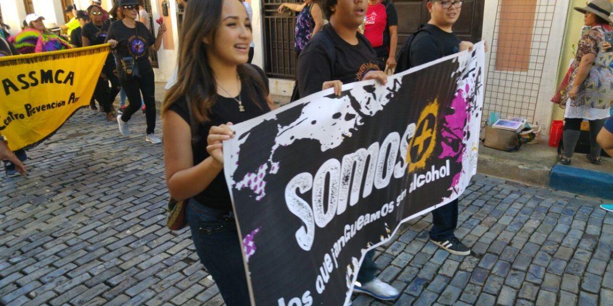 Jóvenes Líderes llevan el mensaje de moderación de alcohol a La SanSe