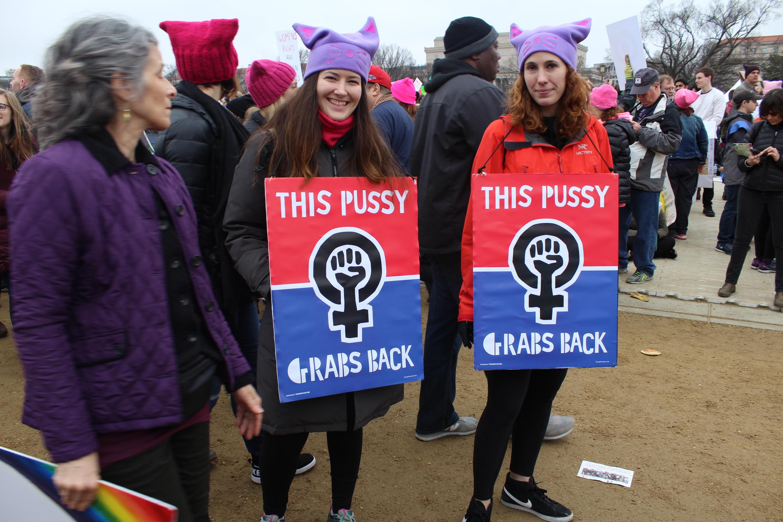 Marcha de las mujeres en Washington D. C. / Foro: David Cordero Mercado