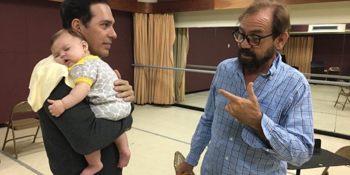 Actor Jorge Castro habla sobre cómo su hija Olivia lo ha transformado