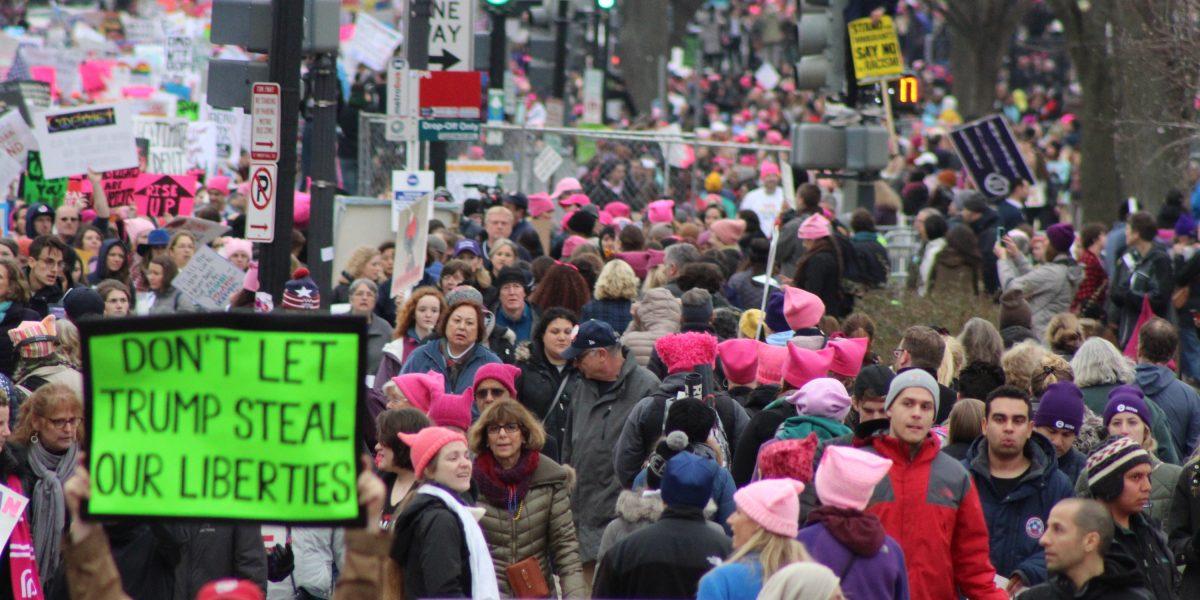 No sólo las mujeres marcharon ayer