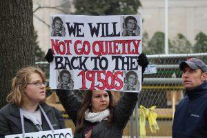 Quince pancartas memorables de la Marcha de las mujeres / Foto: David Cordero Mercado