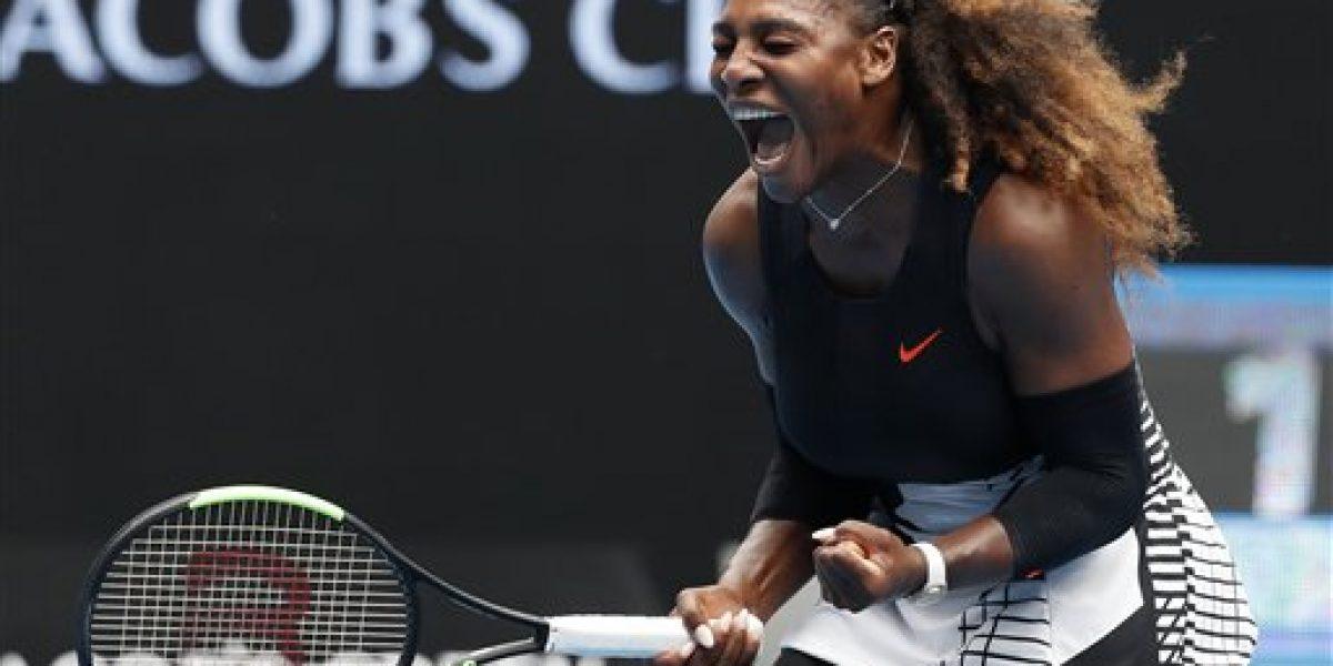 Serena avanza a cuartos en Australia