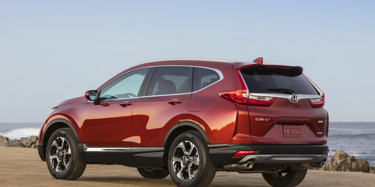 Llega la rediseñada Honda CR-V 2017