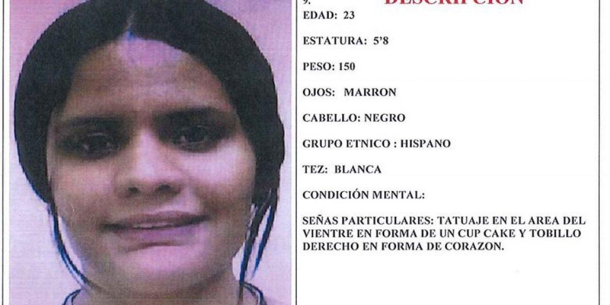 Buscan joven desaparecida en residencial Monte Park