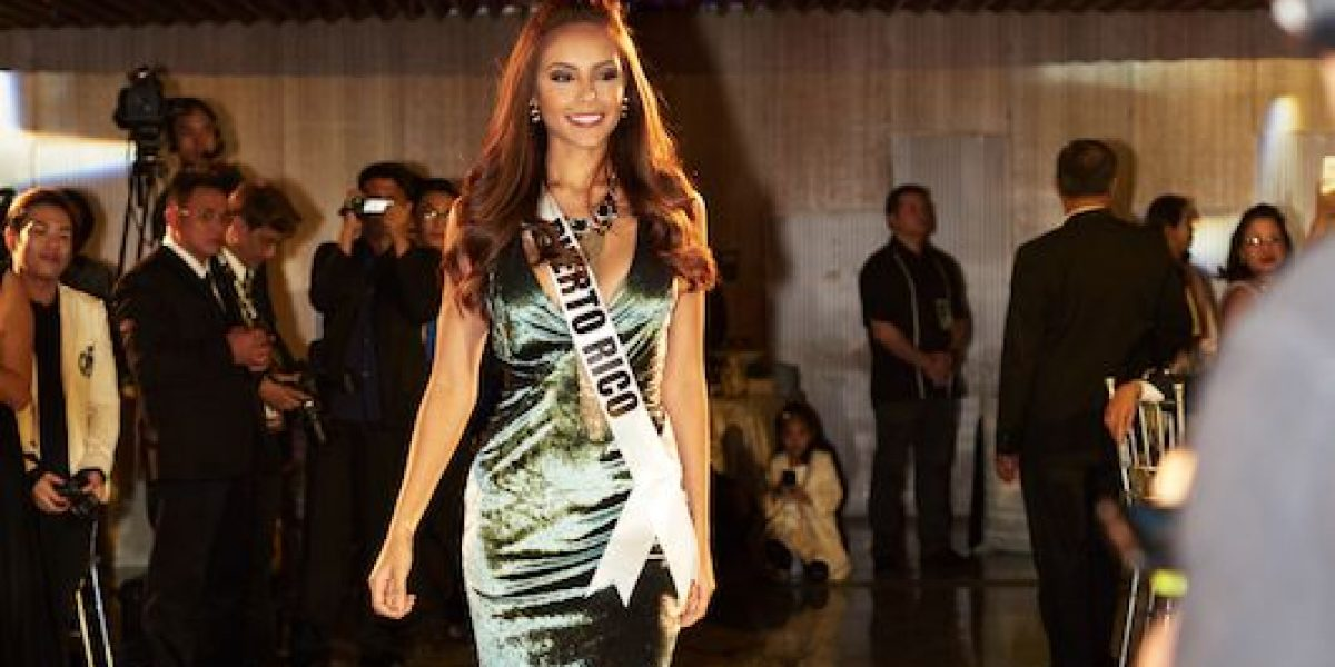Por los pasillos de Miss Universo 2016