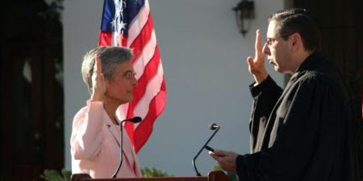Juramenta la coronela Michelle Hernández