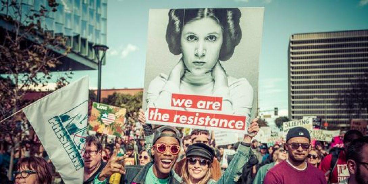 Descarga las imágenes combativas de la Princesa Leia