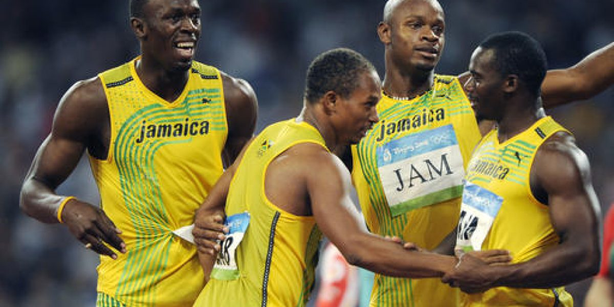 Bolt pierde oro de Olimpiadas 2008