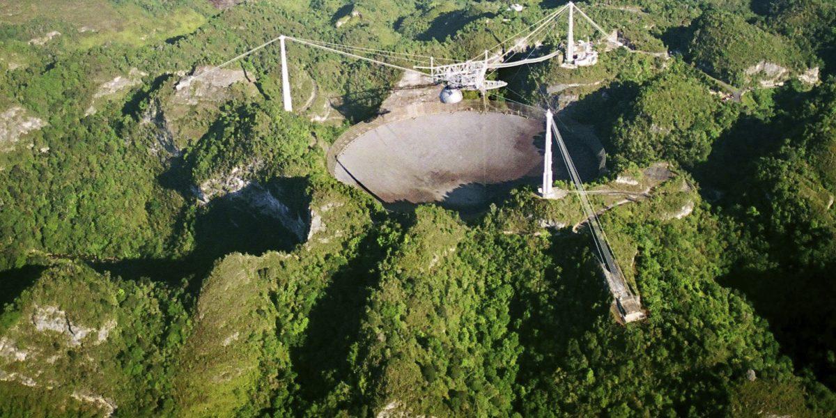 En el limbo futuro de Radiotelescopio en Arecibo