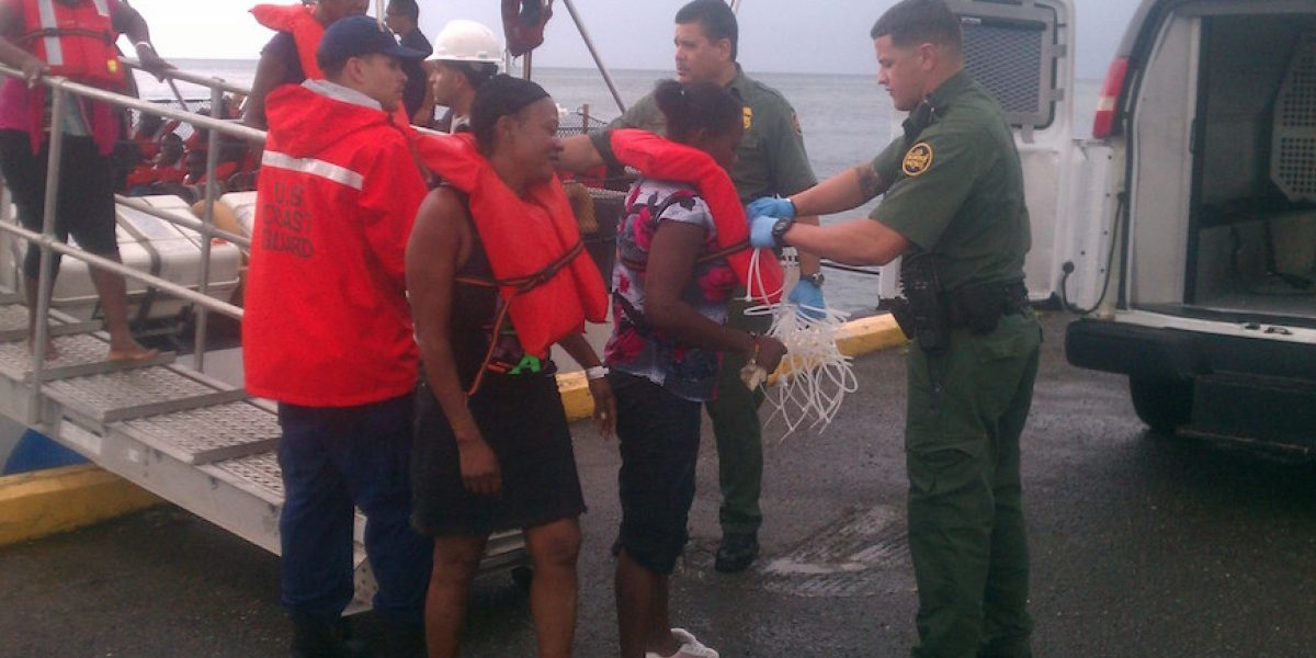 Intervienen con cuatro embarcaciones con 126 inmigrantes en Aguadilla