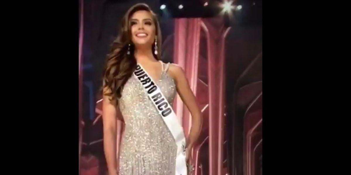 Brenda Azaria se luce en preliminar de Miss Universo 2016