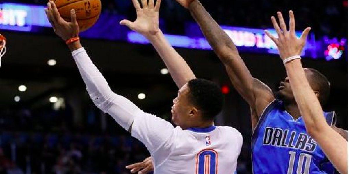 Westbrook brilla tras ser seleccionado al Juego de Estrellas