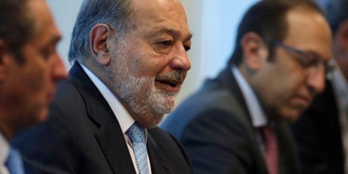 Carlos Slim: el mejor muro es inversión y empleo en México
