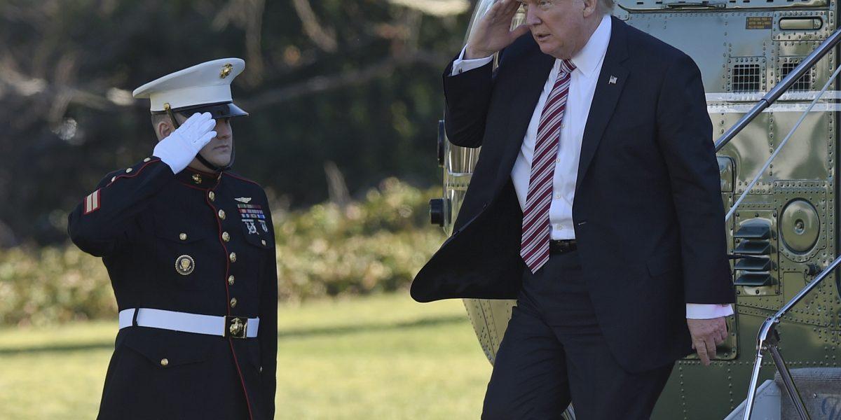 Donald Trump, a una semana de la presidencia