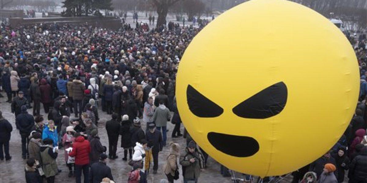 Protestan contra el turismo descontrolado en Barcelona