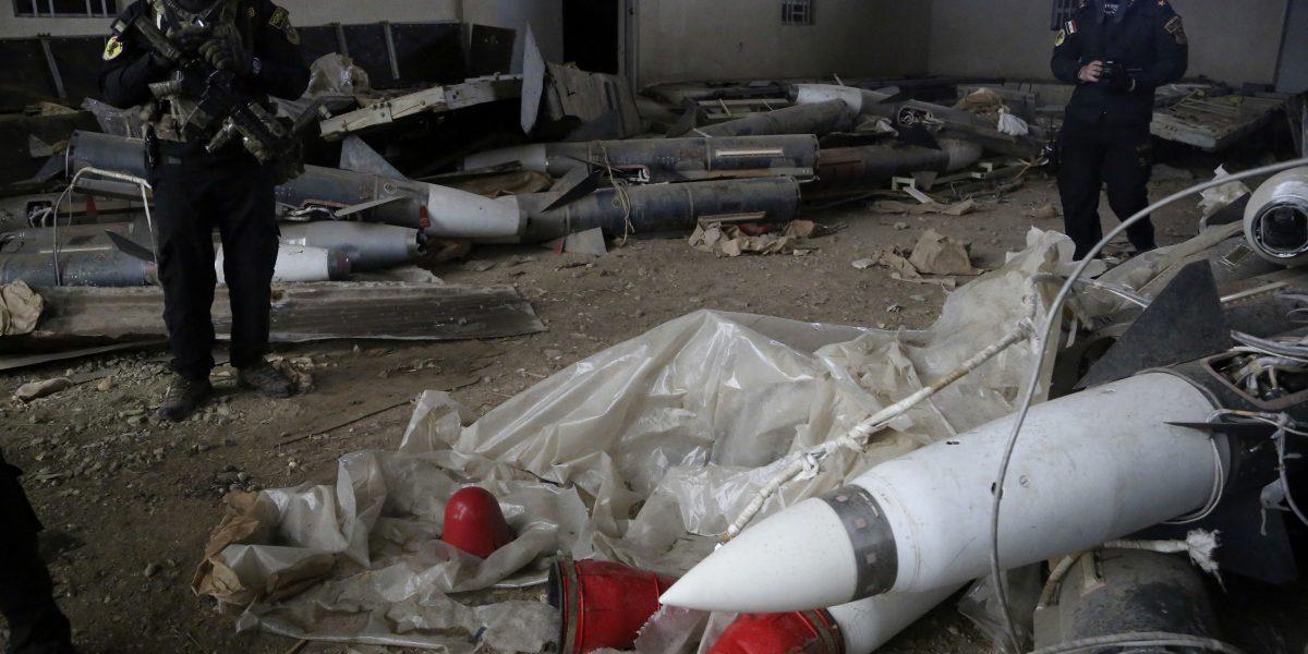 Hallan agente químico y misiles rusos en Irak