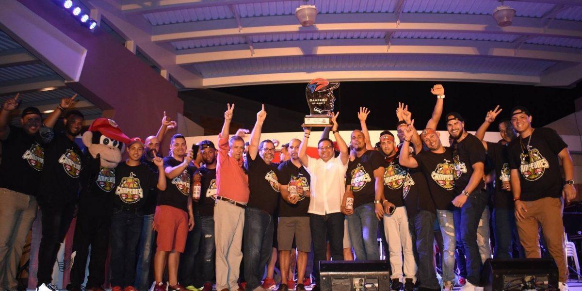 Criollos celebran en grande el campeonato LBPRC