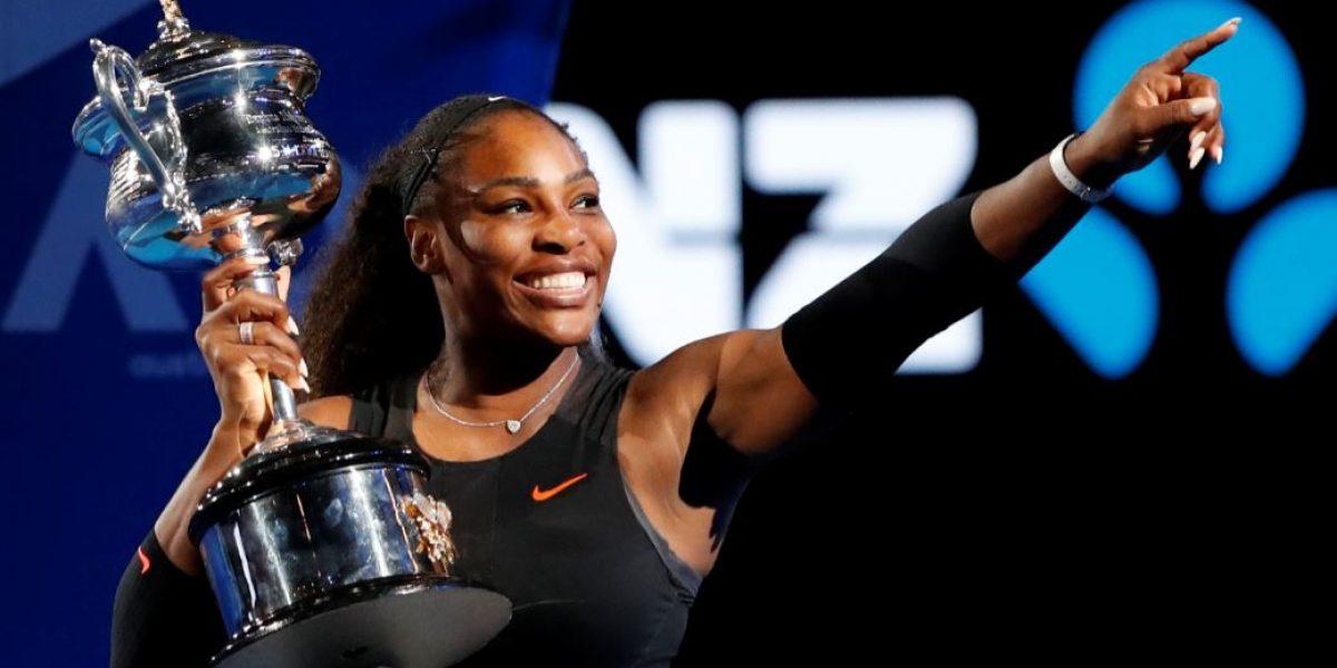 Serena Williams alcanza su 23er título individual de Grand Slam