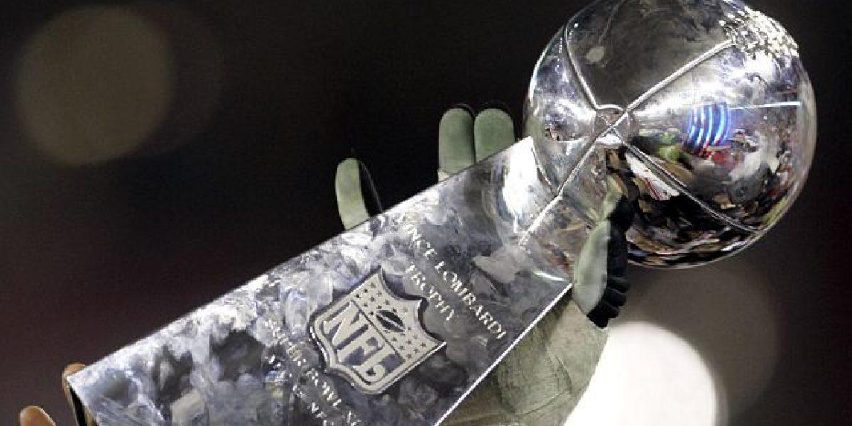 En exhibición el trofeo del campeonato de la NFL