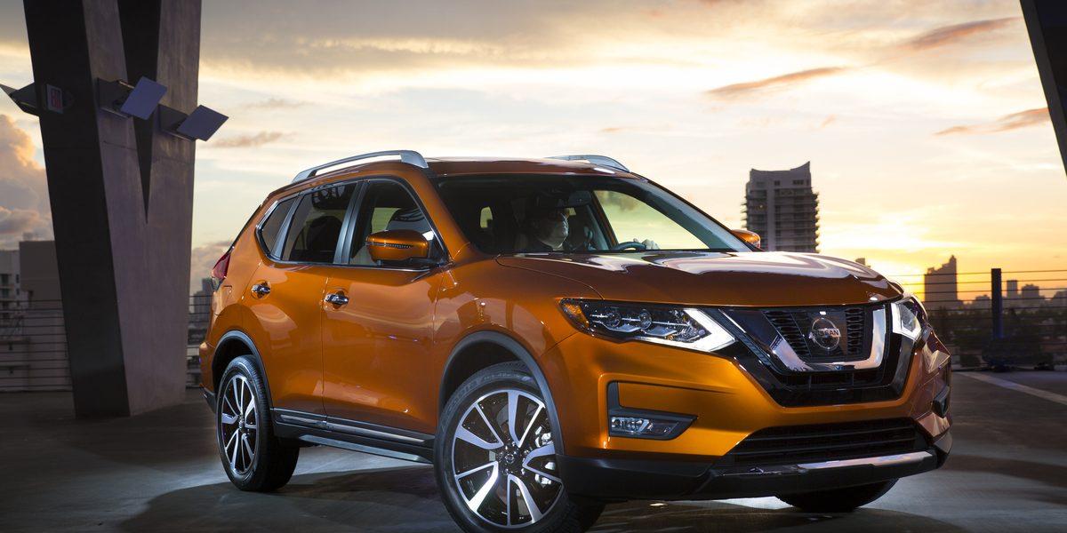 Seleccionan a la Nissan Rogue como el Auto Familiar de 2017