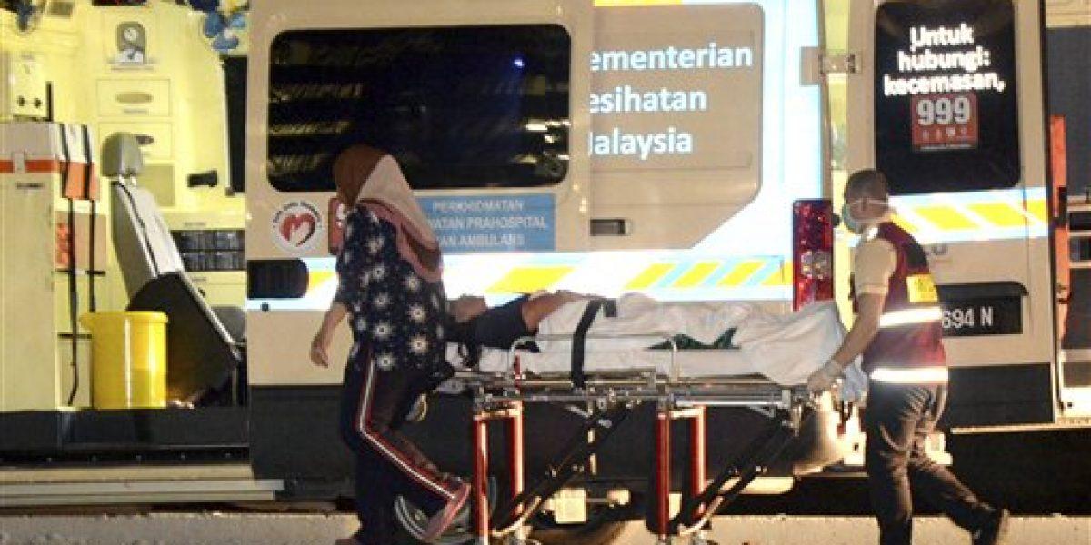 Malasia busca a seis desaparecidos en naufragio