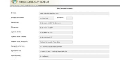 contrato Vega Borges