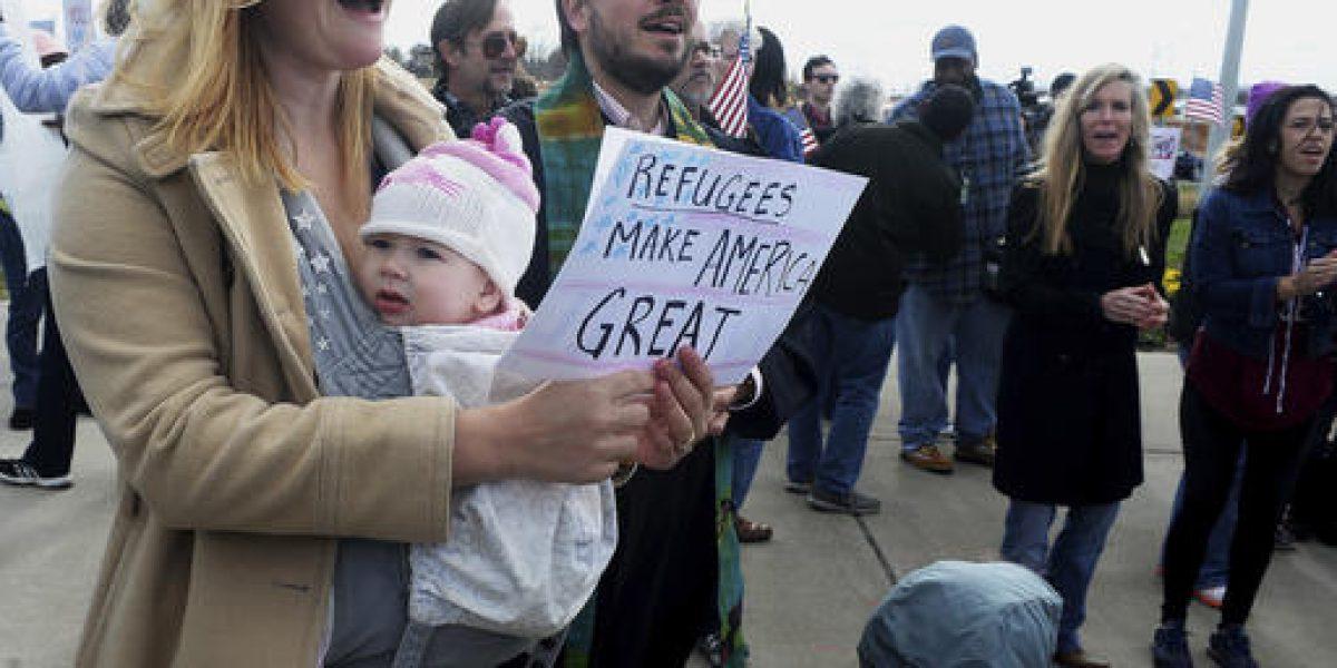 Orden migratoria de Trump, bien recibida por sus partidarios