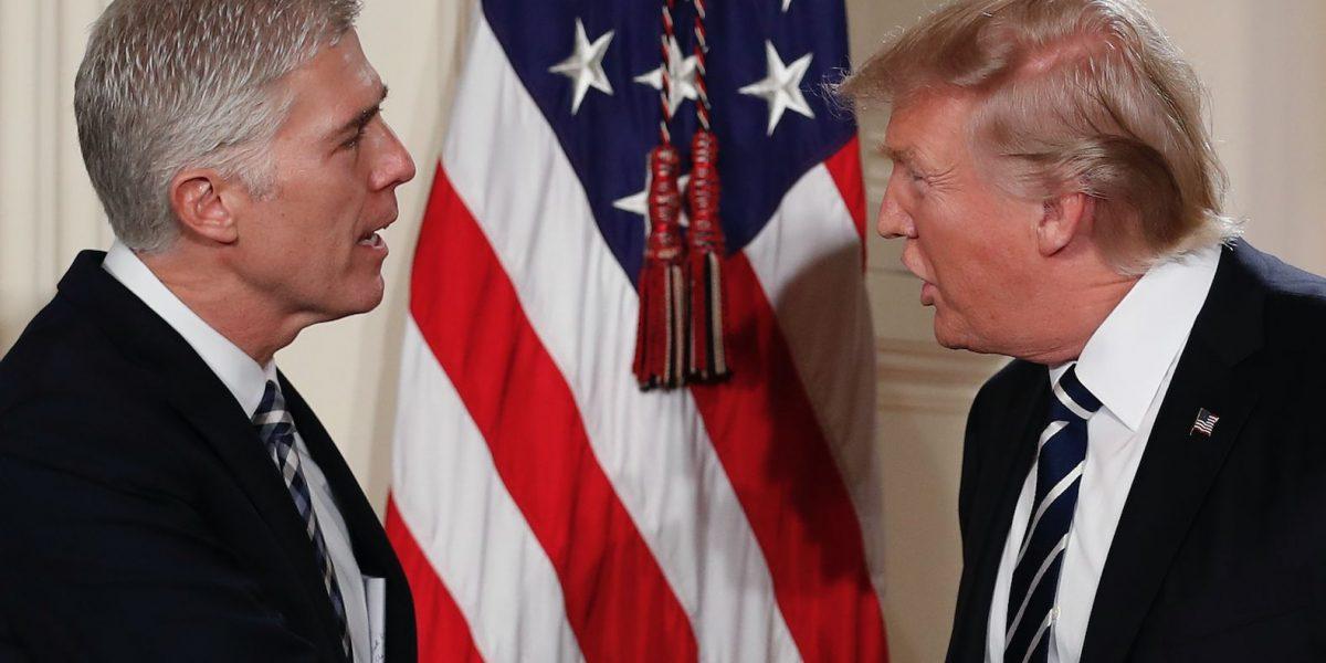 Trump nomina a juez Neil Gorsuch a la Corte Suprema