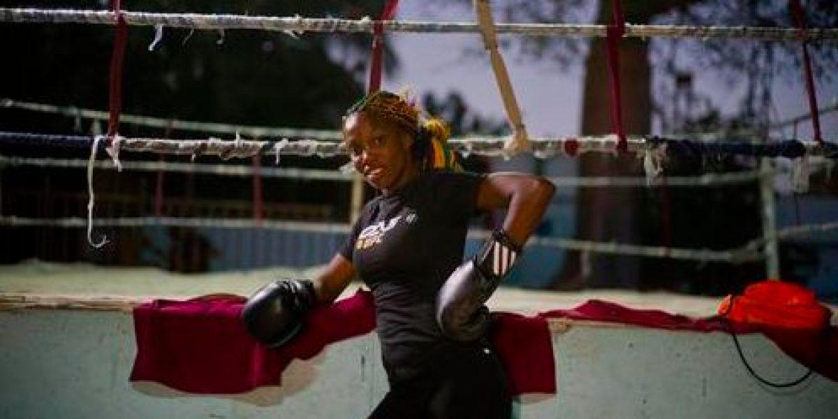 Desde el ring, mujeres cubanas luchan por ser reconocidas