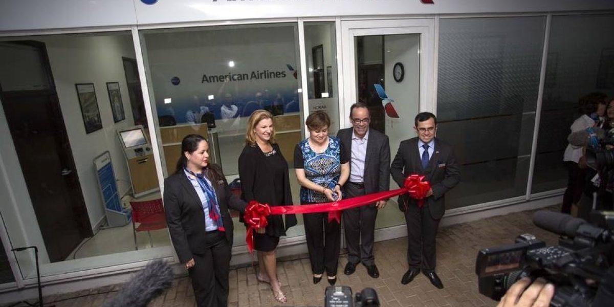 American Airlines abre oficina en La Habana