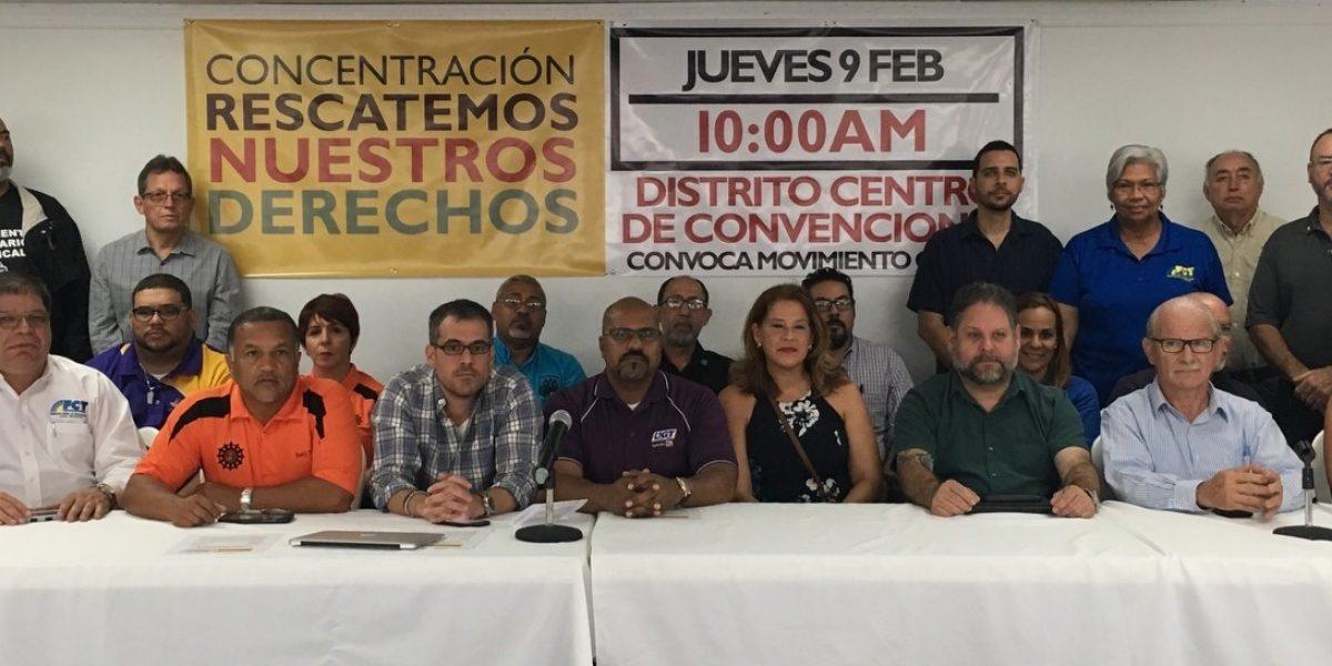 26 organizaciones obreras convocan a marcha contra leyes laborales