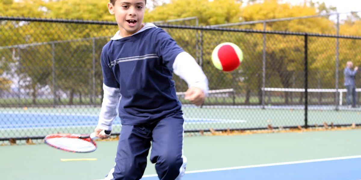 Desarrollarán 172 niños en torneo mini de tenis