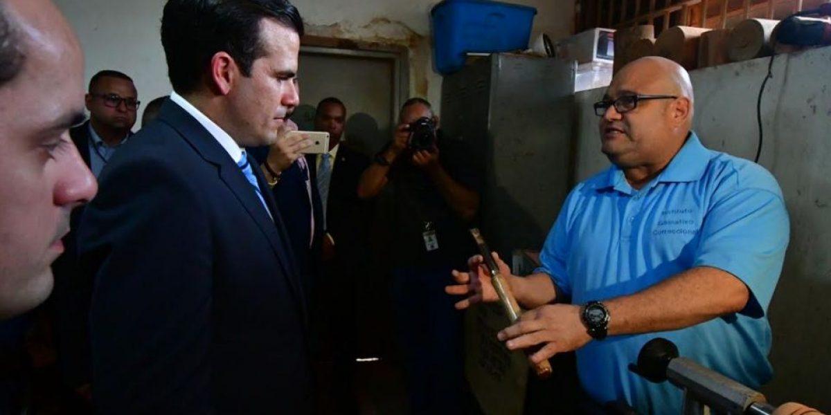 Gobernador reitera énfasis en rehabilitación de confinados