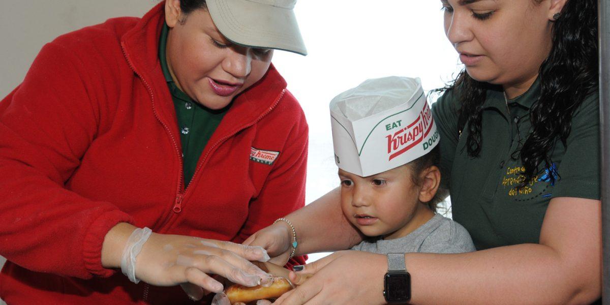 Recaudación histórica de Krispy Kreme para el Hospital del Niño