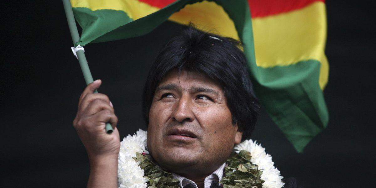 Encuesta rechaza reelección de Evo Morales