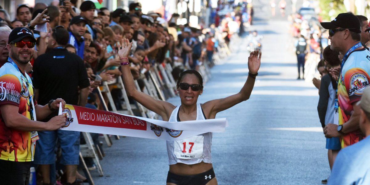 Langat se corona en el mediomaratón San Blas