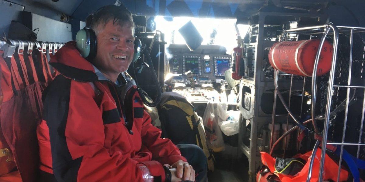 Guardia Costera rescata navegante austríaco que flotaba en una balsa