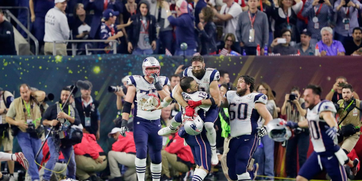 Patriots remontan para ganar el Super Bowl LI