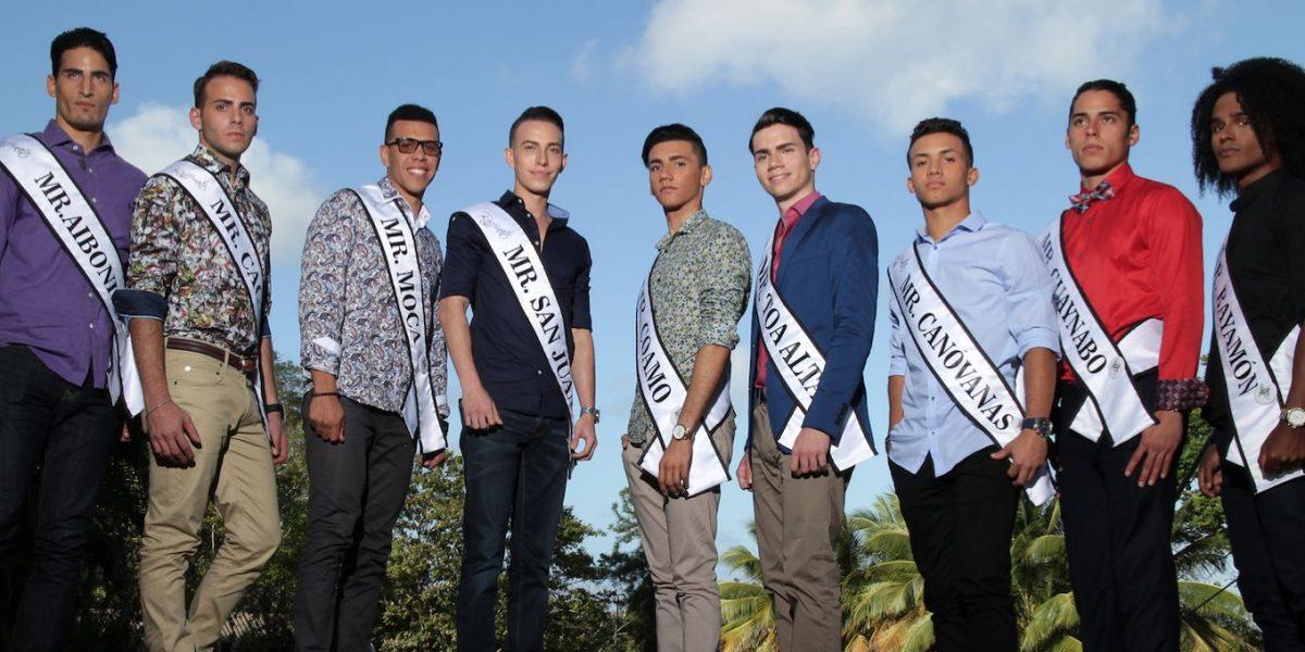 Presentan aspirantes de Misters of Puerto Rico 2017