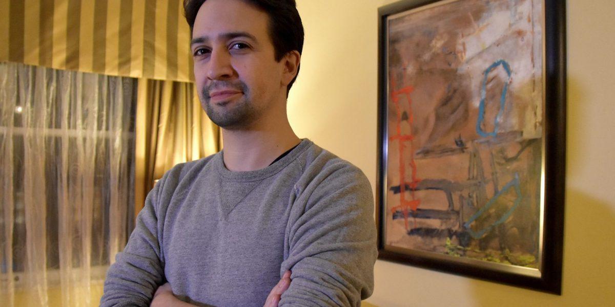 Lin-Manuel Miranda habla de su nominación al Óscar