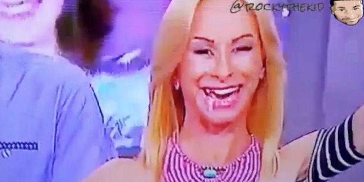 Sonya asegura que fue un bombón y no un diente