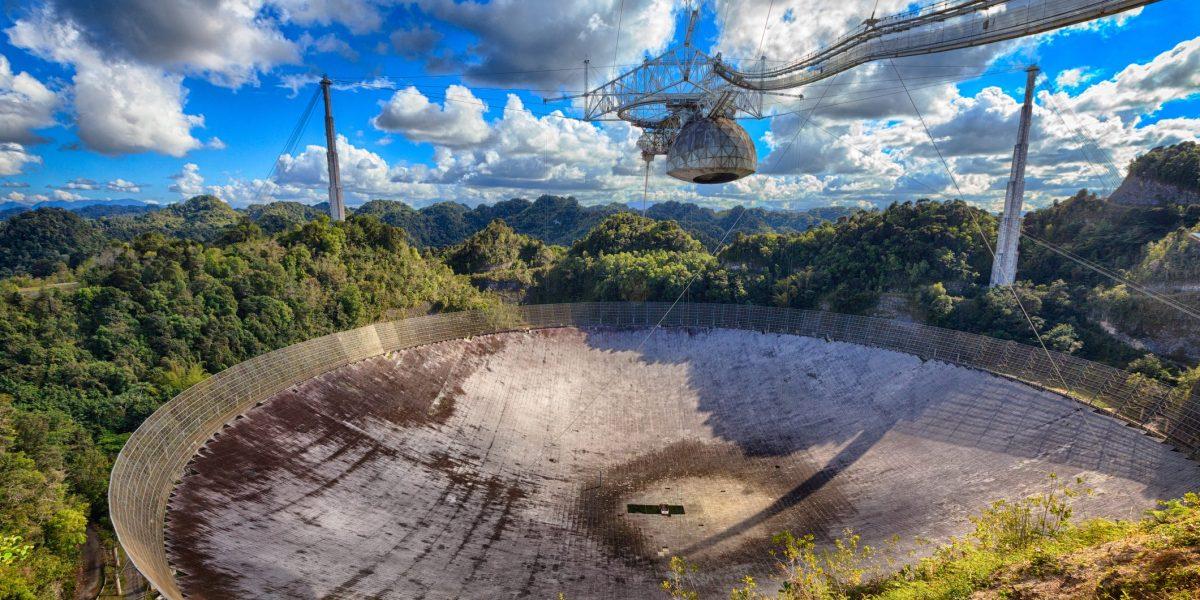Se le acaba el tiempo al Observatorio de Arecibo
