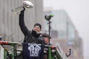 Patriots celebran título en Boston