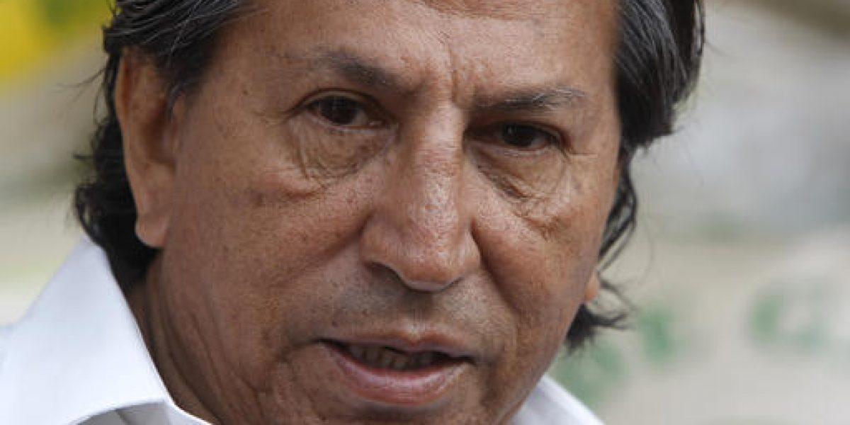 Perú completará datos para pedir arresto de Toledo en EE.UU.