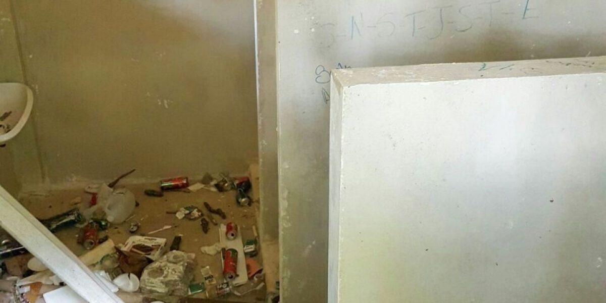 Denuncian escuela de Utuado en condiciones deplorables
