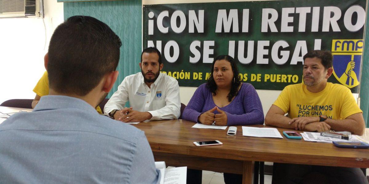 Federación de Maestros llama a participar de protesta de empleados